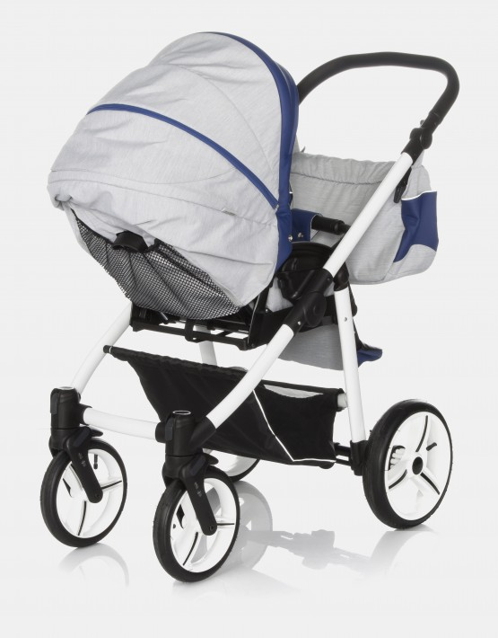 Bebetto Vulcano S-line SL02W Grey - Navy Blue 3in1