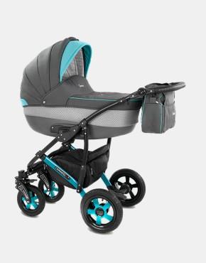 Camarelo Carera XCA-5 grau-blau 3in1 mit Autositz