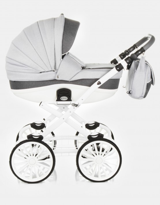Adamex Marcello R10 Dunkelgrau-Weiß 2in1