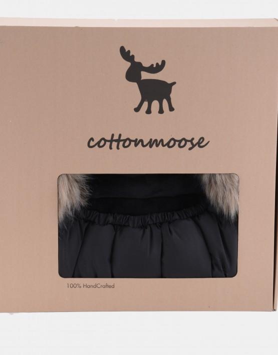 Cottonmoose Footmuff Moose Schwarz - Schwarz