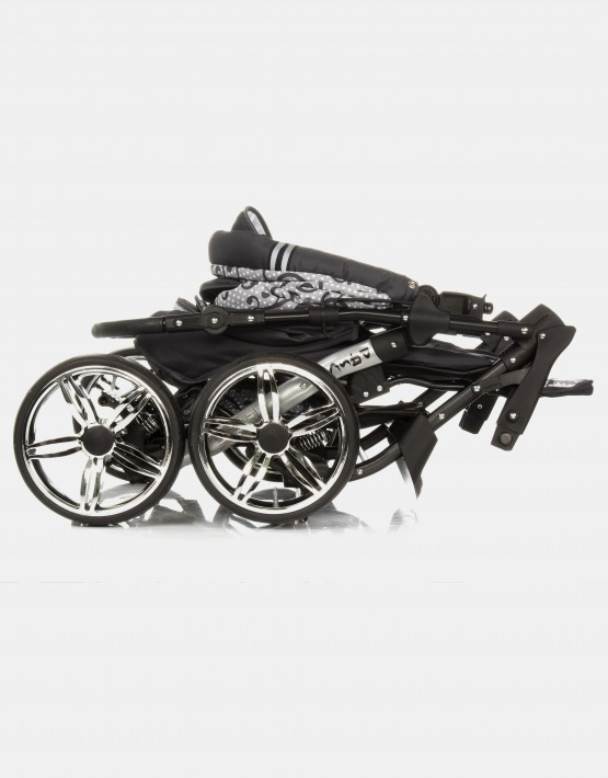 Karex Pascal 14 Dunkelgrau - Ornament 3in1 mit Autositz