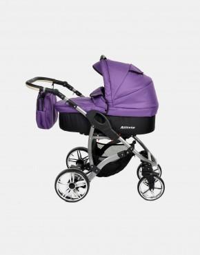 Karex Allivio Schwarz - Violett 3in1 mit Autositz
