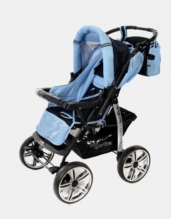 Karex Kamil Dunkelblau - Blau 3in1 mit Autositz