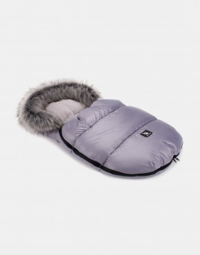 Cottonmoose Footmuff Mini Moose Grau - Grau