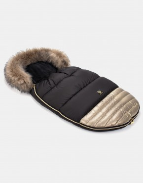 Cottonmoose Footmuff Moose Shine Shiny - Gold