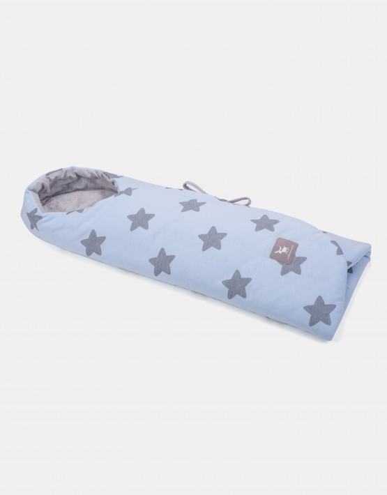 Cottonmoose 439 / 26 / 49 Wickeldecke Hellblau