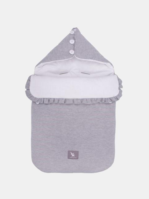 Cottonmoose 330 / 49 / 51 Pooh Schlafsack Melange-Weiß