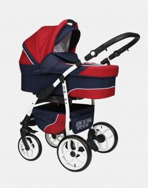 Baby Merc Q9 3in1 Q9-96C Dunkelblau-Frisch Rot