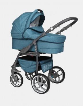 Baby Merc Q9 3in1 Q9-99A Türkisblau (Leinen)