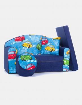 COCO-baby Kindersofa aus Schaumstoff mit Bettfunktion 3in1 (1sn)