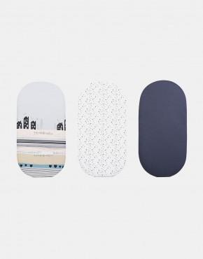 Anex - Mattress pad – Matratzenauflage Dreierpack
