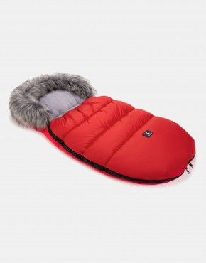 Cottonmoose Footmuff Moose Rot-Grau
