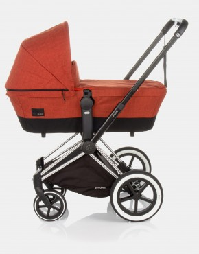 Cybex Priam Autumn Gold - Burnt Red 4in1