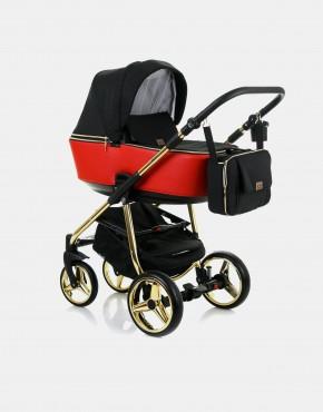 Adamex Reggio Special Edition Y804 Schwarz und Rot - Gold 3in1