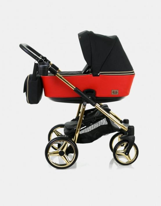Adamex Reggio Special Edition Y804 Schwarz und Rot - Gold 2in1