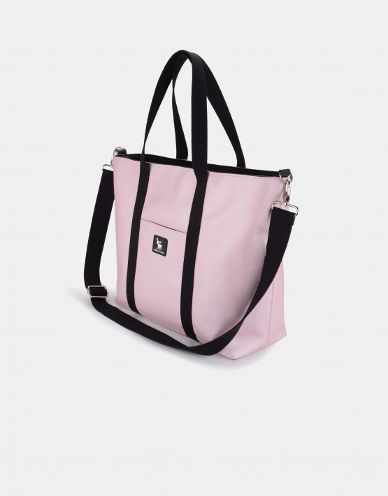 Cottonmoose Wickeltasche Shopper Bag 750/146 Pearl Pink Leather