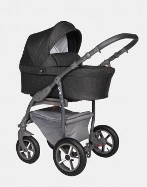 Baby Merc Q9 176A Schwarz- Graues-Gestell 3in1