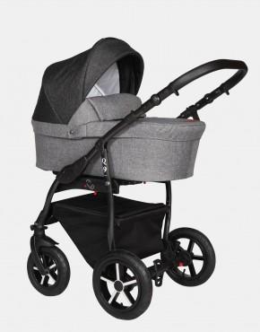 Baby Merc Q9 177B Anthrazit Schwarz - Schwarzes Gestell 3in1