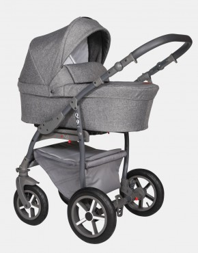 Baby Merc Q9 178A Anthrazit - Graues Gestell 3in1