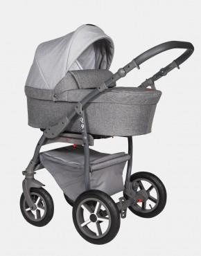 Baby Merc Q9 179A Athrazit Grau - Graues Gestell 3in1