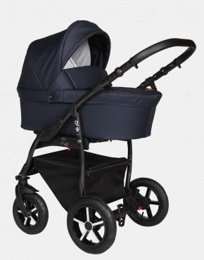 Baby Merc Q9 181B  Dunkelblau - Schwarzes Gestell 3in1