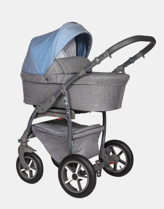 Baby Merc Q9 182A Anthrazit Jeans - Graues Gestell 2in1