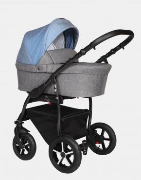 Baby Merc Q9 182B Anthrazit Jeans - Schwarzes Gestell 3in1