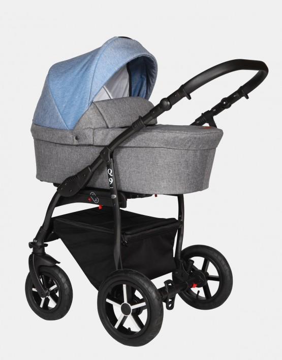 Baby Merc Q9 182B Anthrazit Jeans - Schwarzes Gestell 2in1