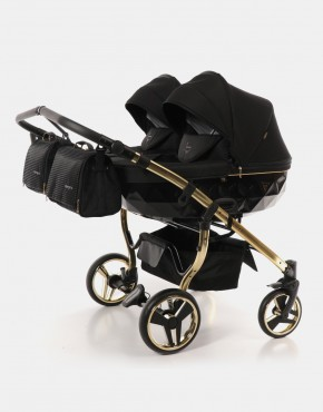 Junama Duo Diamond S-line Schwarz Gold 2in1