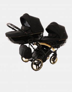 Junama Duo Slim Diamond S-line Schwarz Gold 3in1
