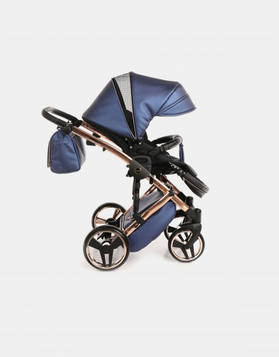 Junama Diamond Individual Fluo Blau-Kupfer 01 + Cybex Cloud Z 4in1