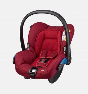 maxicosi carseat babycarseat citi 2017 red robinred 3qrt
