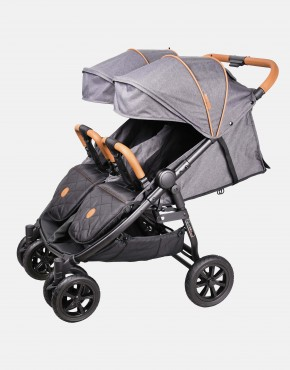 Coletto Enzo Twin Dunkelgrau 2in1