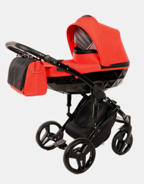 Junama Diamond 03 Schwarz-Rot 3in1