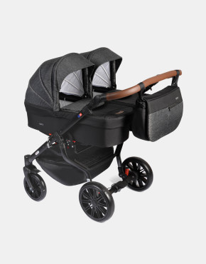 Dorjan Quick Twin TQ Anthracite 2in1