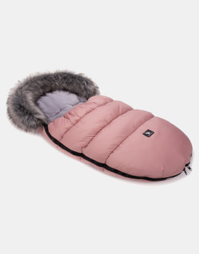 Cottonmoose Footmuff Moose Rose - Grau