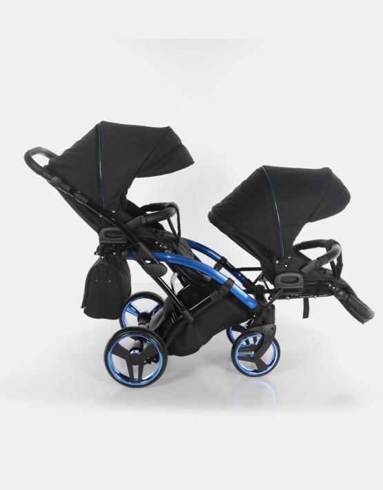 Junama Duo Slim Individual Schwarz Blau 2in1
