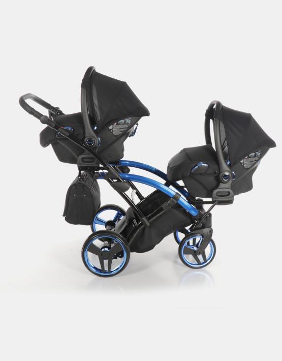 Junama Duo Slim Individual Schwarz Blau 3in1
