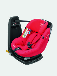 maxicosi carseat toddlercarseat axissfix red nomadred 3qrtleft