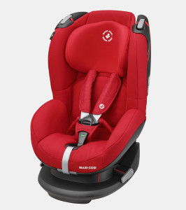 maxicosi carseat toddlercarseat tobi red nomadred 3qrt left