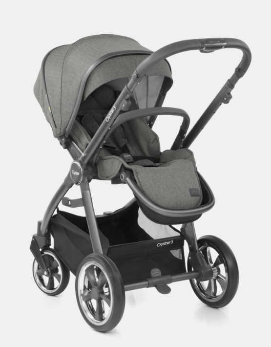 Babystyle Oyster 3 Mercury Graues Gestell