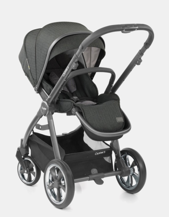 Babystyle Oyster 3 Pepper Graues Gestell