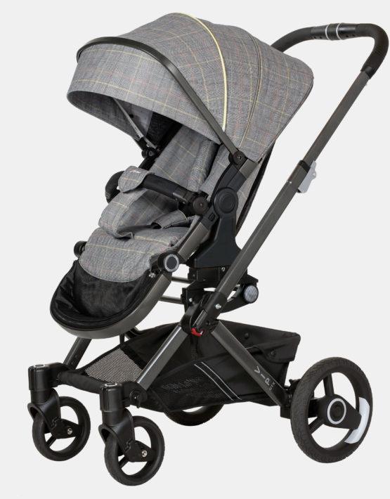 Hartan VIP GTX 2in1 mit Falttasche Gestellfarbe Platin, Design 500