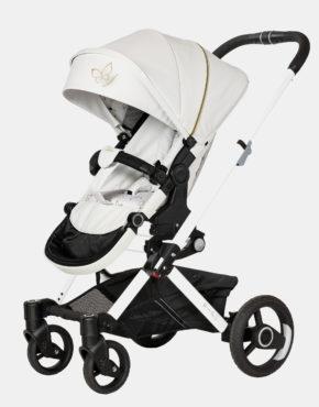 Hartan VIP GTX 2in1 mit Falttasche Gestellfarbe Weiß, Design 529