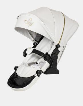 Hartan Racer GTX 2in1 mit Falttasche Gestellfarbe Weiß, Design 529