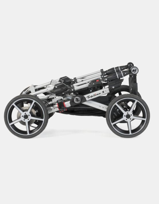Hartan Topline X Sportwagen Gestellfarbe Silber, Design 516