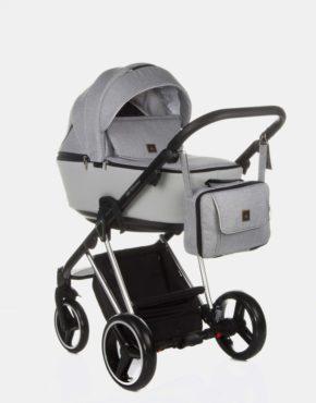 Adamex Cristiano Special Edition 3in1 Hellgrau Aluminium CR-466