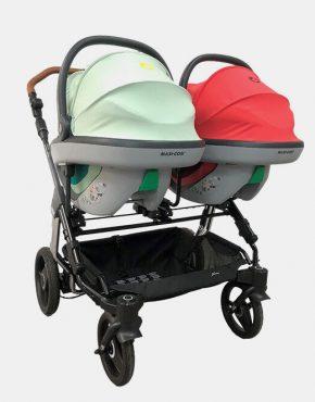 Hartan Autositz-Adapater für Maxi-Cosi, Cybex, Be Safe, Joie Art. Nr. 9972 , Two Select
