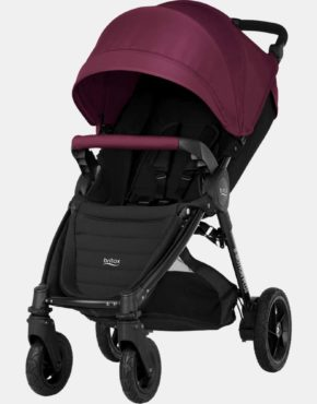 Britax Römer B-Motion 4 Plus Wine Red