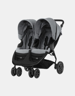 Britax Römer B-Agile Double Steel Grey - Black